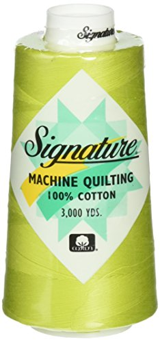 Signature Cotton Quilting Thread, 3000 yd, Solids Lime Splash