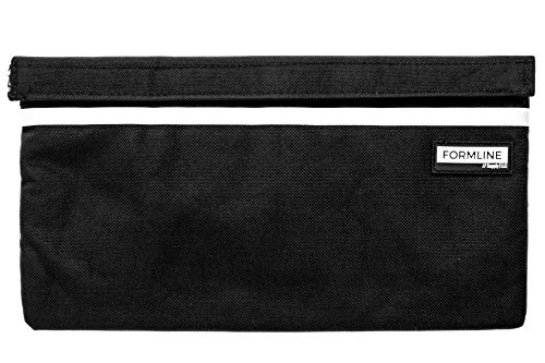 Formline Smell Proof Bag (11x6) - Premium Odor-Proof Pouch with Compartment Organizer Pockets Eliminates Scents and Smelly Odor While Keeping Product Fresh - Discreet Container for Home/Travel (Vape Dry Herb Best)