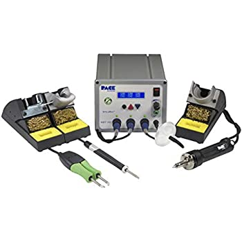 PACE MBT 350 Multi-Channel Soldering Desoldering & Rework System with SX-100 Desolder Iron TD-100A Soldering Iron and MT-100 MiniTweez Thermal Tweezer