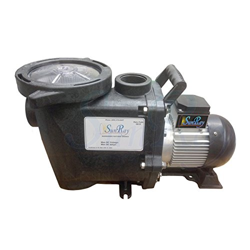 Natural Current SOLFLO-P 62-42-105 BC SunRay Solar Brushless DC Pool Pump