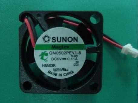 25x25x06mm GM0502PEV1-8 N.GN 25mm 5V 0.11A 2Wire Notebook CPU Cooler Fan