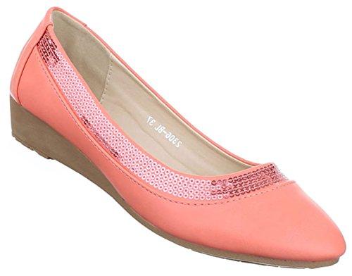 Damen Pumps Schuhe komfort Abendschuhe Business Coral beige blau weiss 36 37 38 39 40 41 Coral