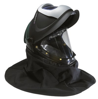 3M Welding Helmet, Welding Safety L-905SG, with Welding Shield and Wide-view Faceshield