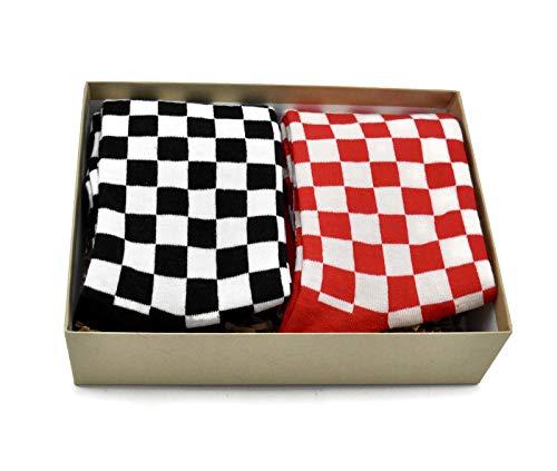 Gift Boxed Men's Novelty Socks 2 Pair Set ()
