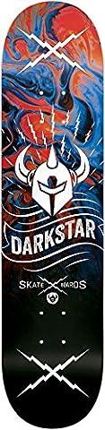 Darkstar 10012529 Axis Skateboard Deck, Blue, 8.125 - Darkstar Skate Decks