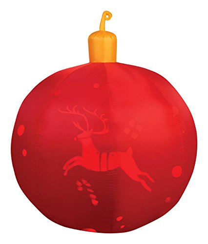 Airblown Red Ornament by Gemmy