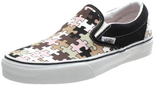 Vans - Mocasines para hombre, color negro, talla 5.5 UK: Amazon.es: Zapatos y complementos