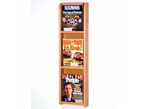 Divulge 3 Magazine Wall Display by Wooden Mallet