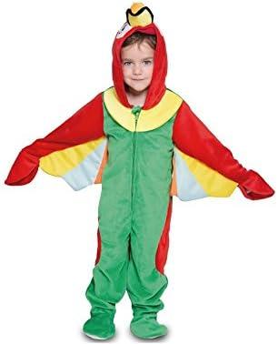 Fyasa 706378-T00 - Disfraz de Loro para niños de 2 a 3 años ...