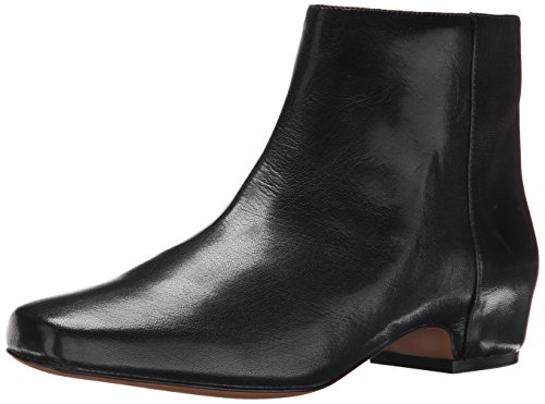 Nine West Womens Huggins Leather Boot Black Leather