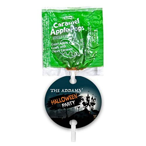Halloween Candy Personalized Party Favors Caramel Apple Pops (48 pops) for $<!--$19.99-->