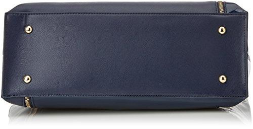 Blu Byblos Byblos 675850, Borsa a Mano Donna, 15 x 33 x 45 cm (W x H x L) Blu (Blu Navy)