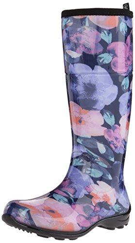 Kamik Boot Rain Poppies Women's Purple nqfzwYx4Xf