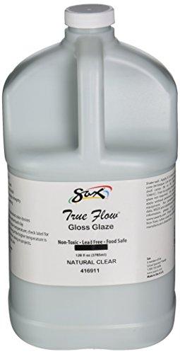 Sax True Flow Gloss Glaze, Natural Clear, Gallon - 416911