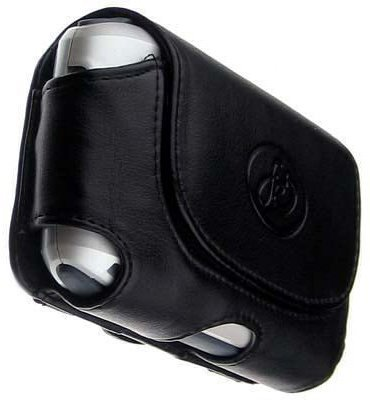 Black Leather Pouch Case for RIM Blackberry 7130,7100i, 7100, 7105,7100 7100g, 7100t, 7100r, 7100v, 7100x, 7130e Sold By TopDeals888 (Blackberry 7130e Leather Case)