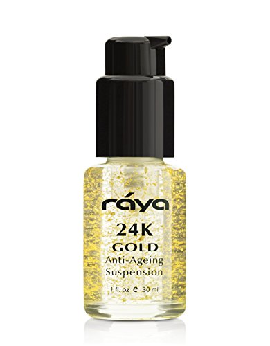 RAYA 24K Gold Anti-Aging Suspension (510) | Anti-Aging Facial Treatment Serum for All Skin Types | Made with Pure 24…