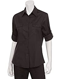 Chef Works Womens Two Pocket Dress Shirt (WPDS)