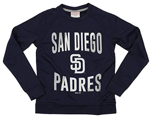 Outerstuff MLB Padres Boys 8-20 Performance Fleece Crew Neck LS TOP 20-XL (Diego Fleece San Pullover Padres)