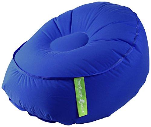 EverEarth EZAir Rangi Inflatable Kids Beach Chair, Blue by EverEarth