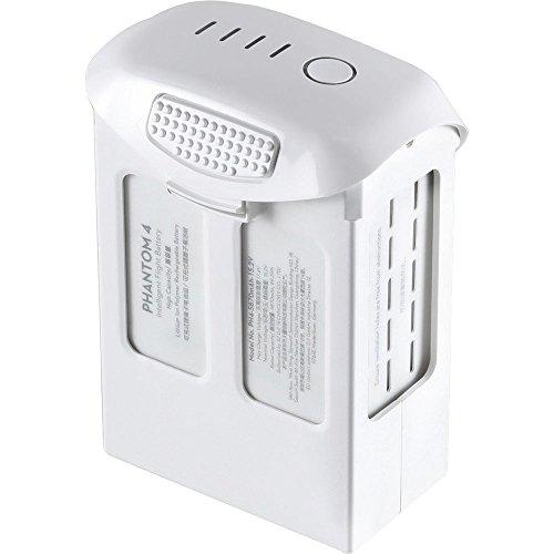 DJI High Capacity Phantom 4 Series P4-Intelligent Flight Battery, White (CP.PT.000601) (2 Phantom V2)