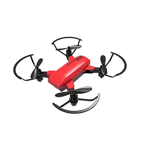 Saikogoods フライングRCドローン標準折りたたみリモートコントロールおもちゃQuadcopterヘリコプター(色:赤)