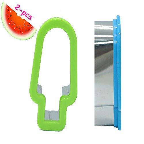 HUELE 2PCS Creative Popsicle Model Watermelon Slicer Melon Cutter Kitchen Tool DIY Kitchen Tools
