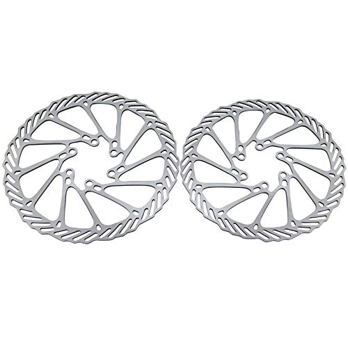 MONICO STORE 2Pcs Stainless Steel Bike Bicycle Cycling Clean Sweep Disc Brake Rotors 160mm G3 Bicycle Brakes for for MTB Disk Brake Use EA14 ()
