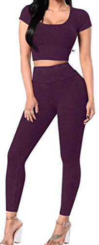 80s Purple Vest - 1