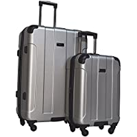 Kenneth Cole Reaction Central Park 2-Piece Expandable Luggage Spinner Set: 24