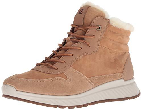 ECCO Women's Women's ST1 High Top Sneaker, Cashmere Suede/Cashmere Nubuck, 42 M EU (11-11.5 US) (Ecco Boots Kids)