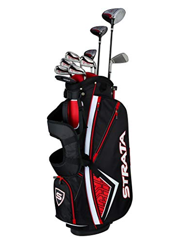 Callaway Golf 2019 Men's Strata Plus Complete 14 Piece Package Set (Left Hand, Steel)