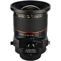 Samyang Tilt-Shift SYTS24-S 24mm f/3.5 Tilt Shift lens for Sony Alpha
