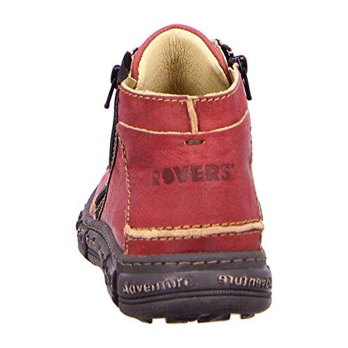 Rovers - Botas de Piel para mujer Rojo rojo Rojo - vino