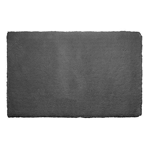 Cheap Laura Ashley Pearl Plush 20 x 32 Bath Mat, Gray Street supplier