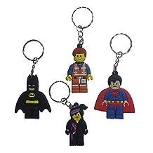 Lego Movie Keychains 4 Pcs Set #1