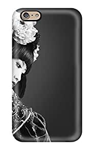 New Snap-on DPatrick Skin Case Cover Compatible With Iphone 6- Black And White Geisha