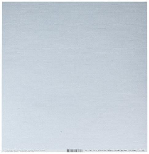 Bazzill Cdstk 12x12 Mono Powder Blue