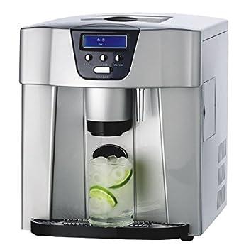 4072 Dispensador Plus B- Máquina de cubitos +dispensador de agua+ conexión de agua externa: Amazon.es: Hogar