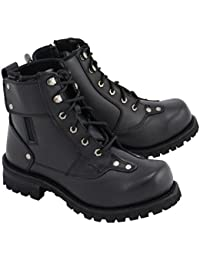 """Men's 7"""" Outlaw Leather Motorcycle Boots"""