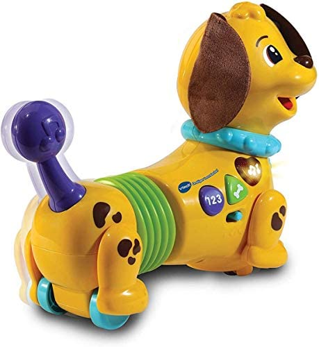 Vtech 80-522704 Drolliger Lerndackel, Babyspielzeug, Mehrfarbig