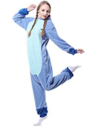 Underwear & Sleepwears Strict Big Mouth Christmas Deer Pajama Sets Cartoon Sleepwear Women Kigurumi Pajama Flannel Animal Purple Unicorn Pajama Sets