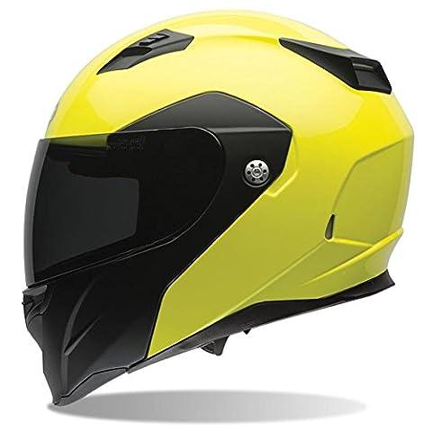 Bell Revolver Evo Optimus Hi-Viz Yellow/Black Modular Helmet - Small