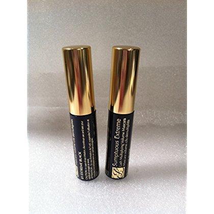 Estee Lauder Sumptuous Extreme Lash Multiplying Volume Mascara 01 Extreme Black Lots of 2 0.1oz/2.8ml*2