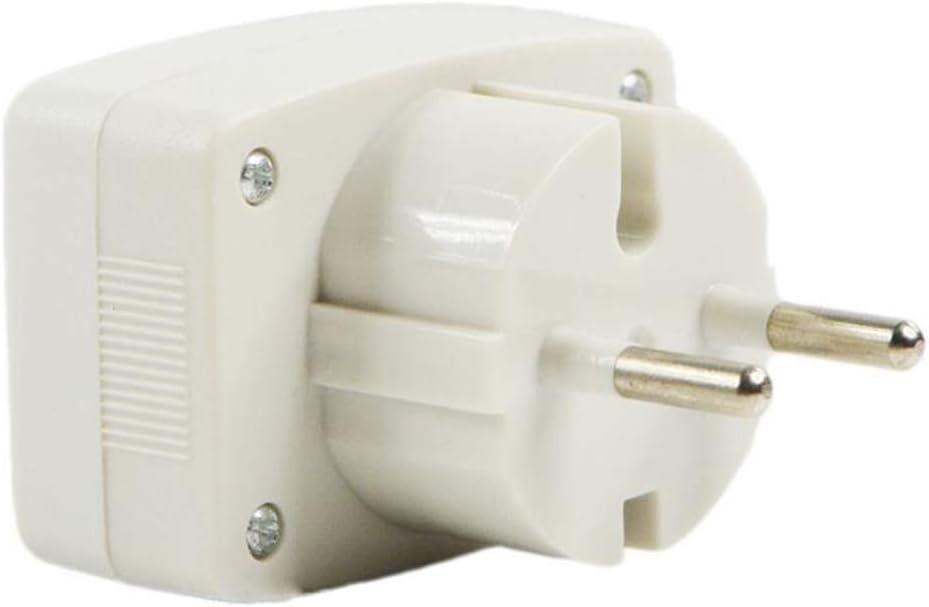 Fenteer Digital Spannungsanzeige Voltanzeige Strommesser Voltmeter Volt Messger/ät mit Hintergrundbeleuchtung Wei/ß