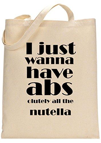 Nutella Lover Custom Made Tote Bag