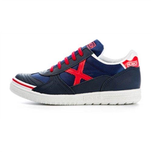 731db5dfb Munich G 3 Kid - Zapatillas deportivas para niño, color azul/ rojo/ blanco,  talla 38: Amazon.es: Zapatos y complementos