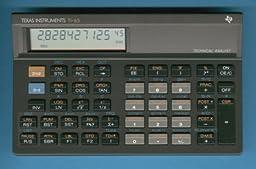 TI-65 Technical Analyst Financial Calculator