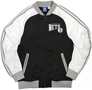 adidas Brooklyn Nets de la NBA – Chaqueta de chándal para Hombre ...