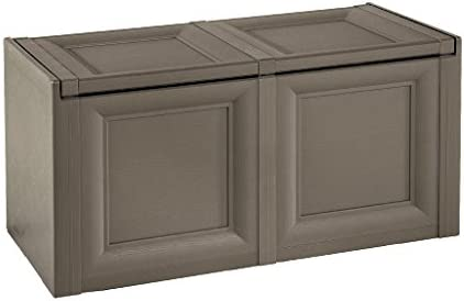 Tontarelli 8086012909 Omnimodus Coffre de Rangement Chocolat 86,5 x 40 x 44 cm