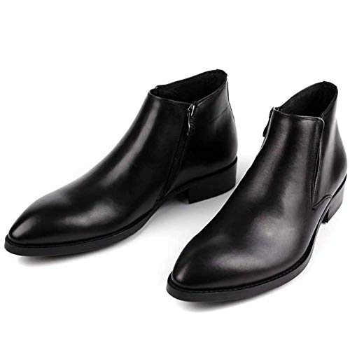 black uomo NANXZ British Leather Boots a fatto mano esterna fqwUqxZ